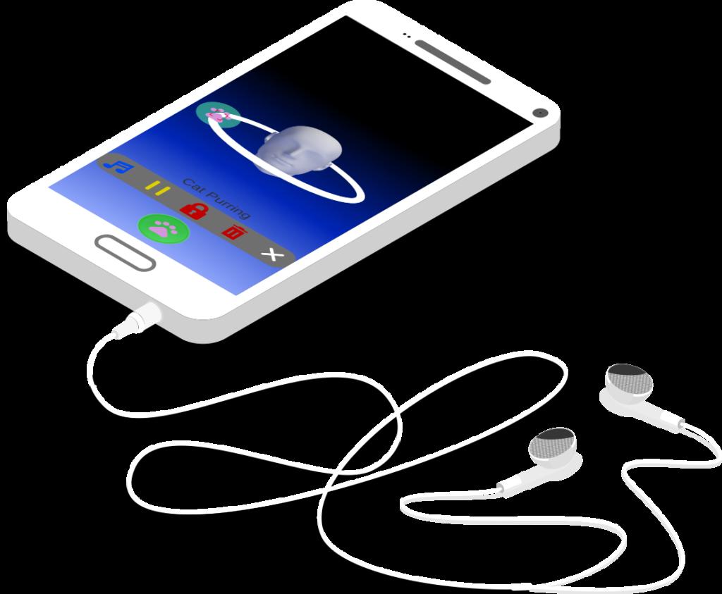 ASMR Toy App in Phone
